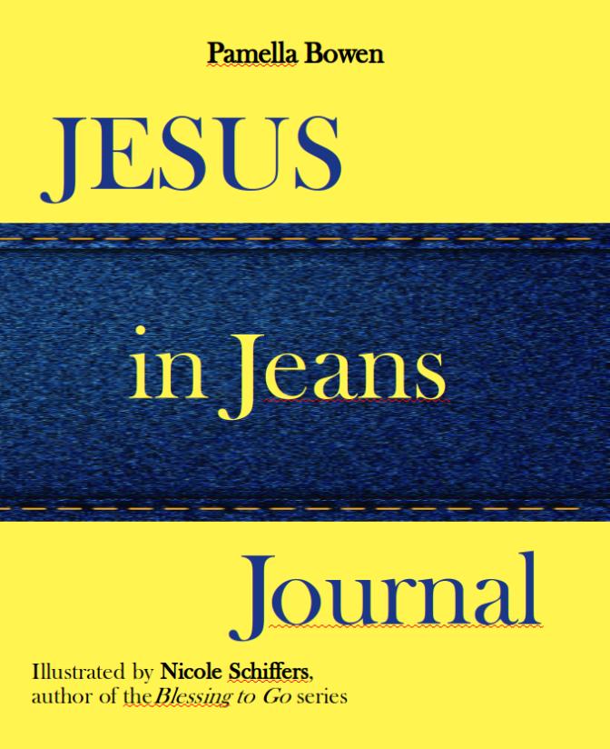 Jesus in Jeans for bookmark